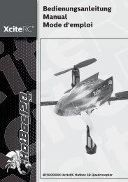 Bedienungsanleitung Manual Mode d'emploi - XciteRC
