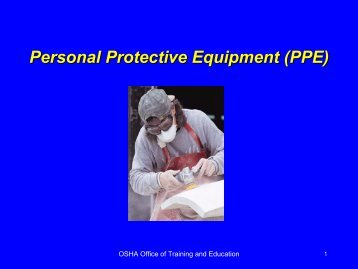 Personal Protective Equipment (PPE) - STEPS Network