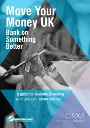 Move Your Money UK - National Union of Students