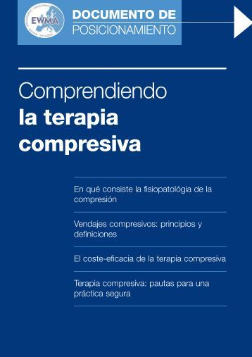 Comprendiendo la terapia compresiva - Wounds International