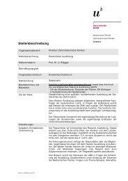Ressort_Ausbildung_neu2 do - zahnmedizinische kliniken zmk bern