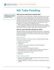 PE227 NG Tube Feeding - Seattle Children's