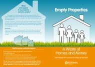 Empty Properties - A waste of homes and money - Kirklees Council