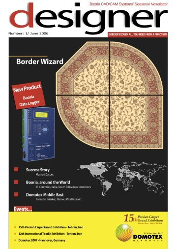 The first issue June 2006, (3.38 MB) - Booria Textile CAD/CAM ...