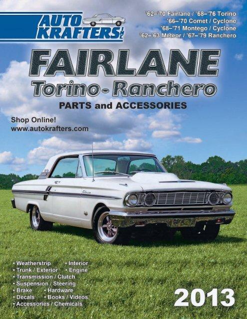new 1966 67 fairlane fuse box terminal repair kit falcon 68 fl 13pt1 pdf  fl 13pt1 pdf