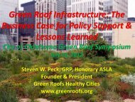 Green Roof Infrastructure - City of Oklahoma City