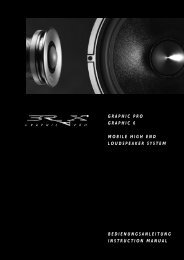 GRAPHIC PRO GRAPHIC 6 MOBILE HIGH END LOUDSPEAKER ...
