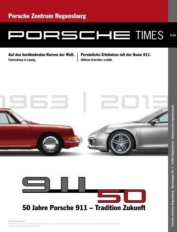 Ausgabe 01/2013 [2546 kB] - Porsche Zentrum Regensburg