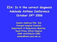 EIA: Is it the correct diagnosis Adelaide Asthma Conference October ...