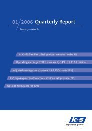 March 2006 - K+S Aktiengesellschaft