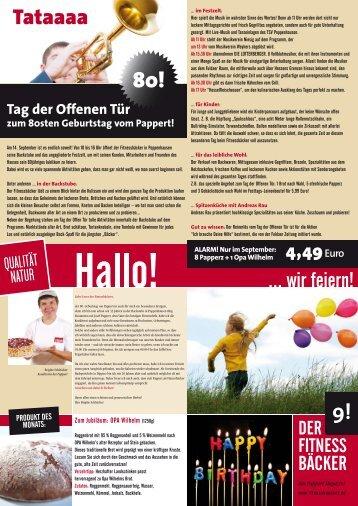 Fitnessbäcker Heft 09