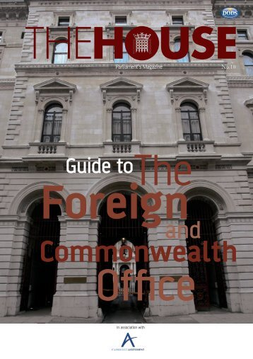 Guide to The Foreign and Commonwealth Office - Careers Service