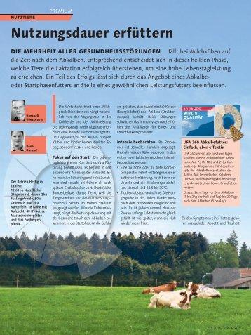 Fachartikel - Nutzungsdauer erfüttern (pdf / 538 KB) - UFA AG