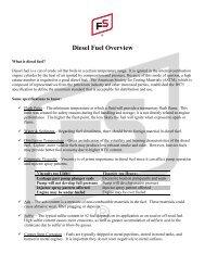 Premium Diesel Express Spec Sheet pdf - GoFurtherWithFS