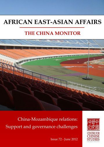 You can download Issue 72 of African East-Asian Affairs | The China ...