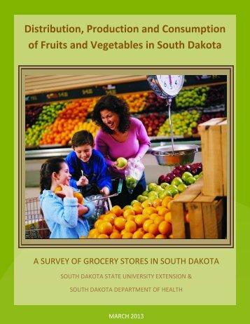 Summary of Grocer Survey - Healthy South Dakota