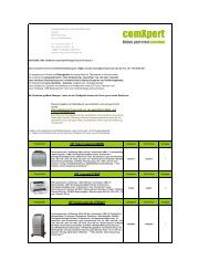 HP Color Laserjet 2600N HP Laserjet P1005 HP ... - comxpert