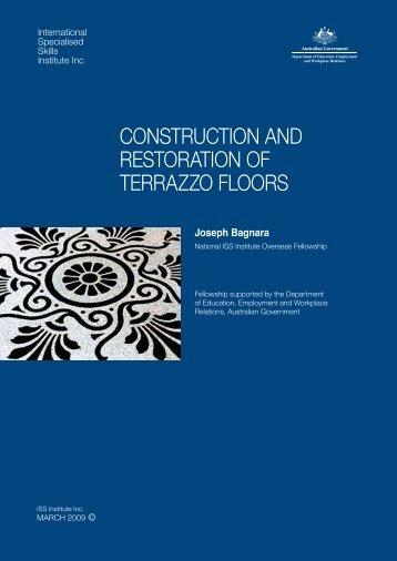 Construction and Restoration of Terrazzo Floors - International ...