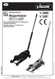 V2480 - Vigor Equipment