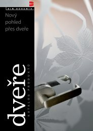 Katalog BIM Bohemia 2011 - Dveře a podlahy Woodcote