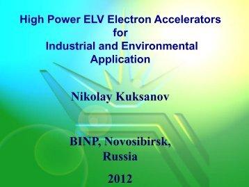 ELV accelerators - PlasTEP