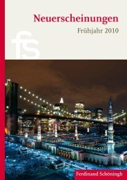 Shimon Peres - Verlag Ferdinand Schöningh