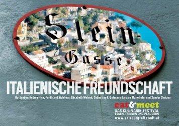 Eine Genussreise durch die Steingasse ... - Altstadt Salzburg