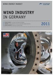 2011 WIND INDUSTRY in gERMany - Wind-Energy-Market