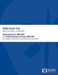Summary of Benefits - SCAN Health Plan
