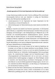 Kurzfassung des Gutachtens - Institut Technik und Bildung