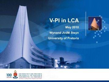 V-PI in LCA - University of California Pavement Research Center