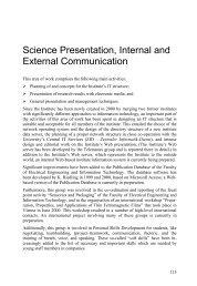 Display report contribution - Institut für Sensor- und Aktuatorsysteme
