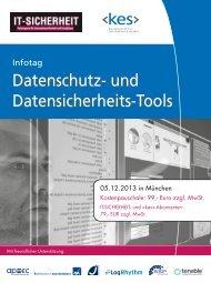 Datenschutz- und Datensicherheits-Tools - SecuMedia