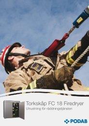 Torkskåp FC 18 Firedryer - Podab
