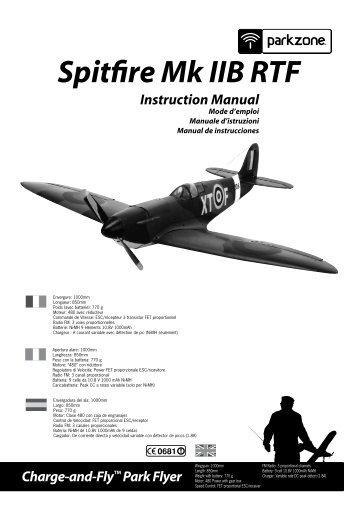 Spitfire Mk IIB RTF - Horizon Hobby