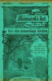 ÅUMARSKI LIST 12/1900