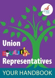 Union Equality Representatives - Unite the Union