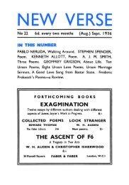 No 22 - Modernist Magazines Project