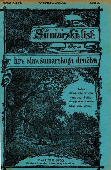 ÅUMARSKI LIST 2/1902