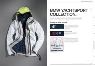 BMW YACHTSPORT COLLECTION.