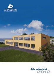 Jahresbericht 2012 - Appisberg
