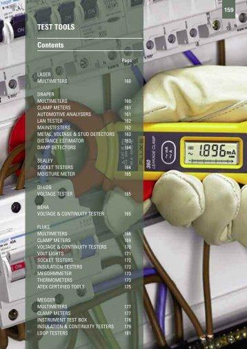 TEST TOOLS Contents - Gibb Tools