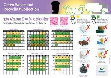 2013/2014 South Calendar