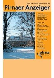 Pirna 03_09:Pirnaer Anzeiger_01/09