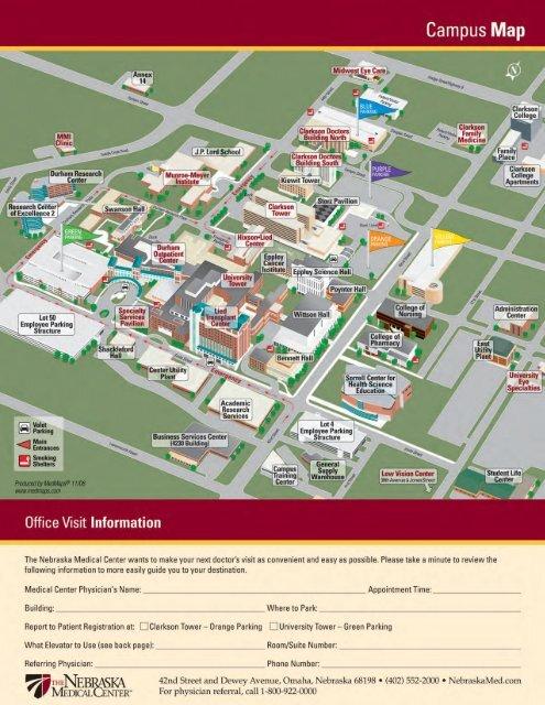 Campus Map Unmc