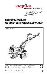 Handbuch - Lansing Land- und Gartentechnik GmbH