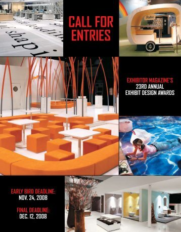Entry Form - Exhibitor Magazine