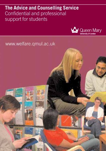 Advice and Counselling leaflet - Advice and Counselling Service ...