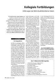 Kollegiale Fortbildungen - Gute UnterrichtsPraxis