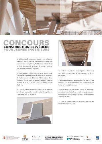 pdf des projets - Revue Technique Luxembourgeoise